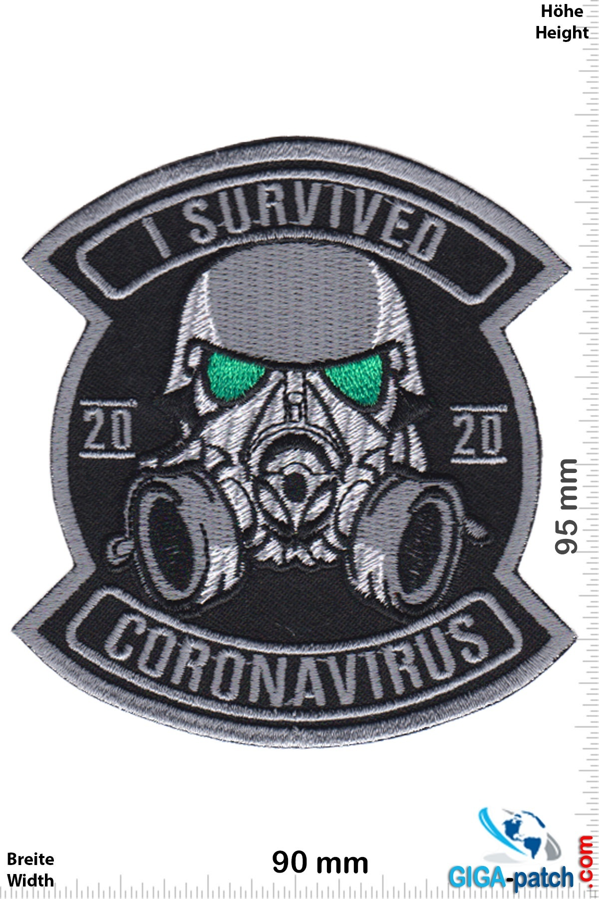 I Survived - 2020 Coronavisurs - Mask -  Corona Virus - Covid 19