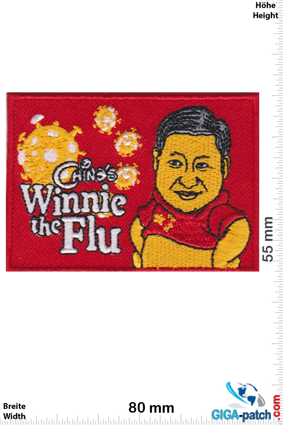 China's Winnie the Flu - Corona Virus - Covid 19