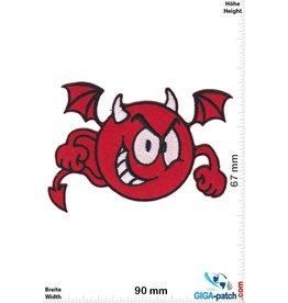 Smiley Smiley - Smile - Red Devil