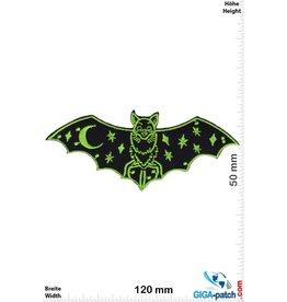 Bat - green - Nightmagic