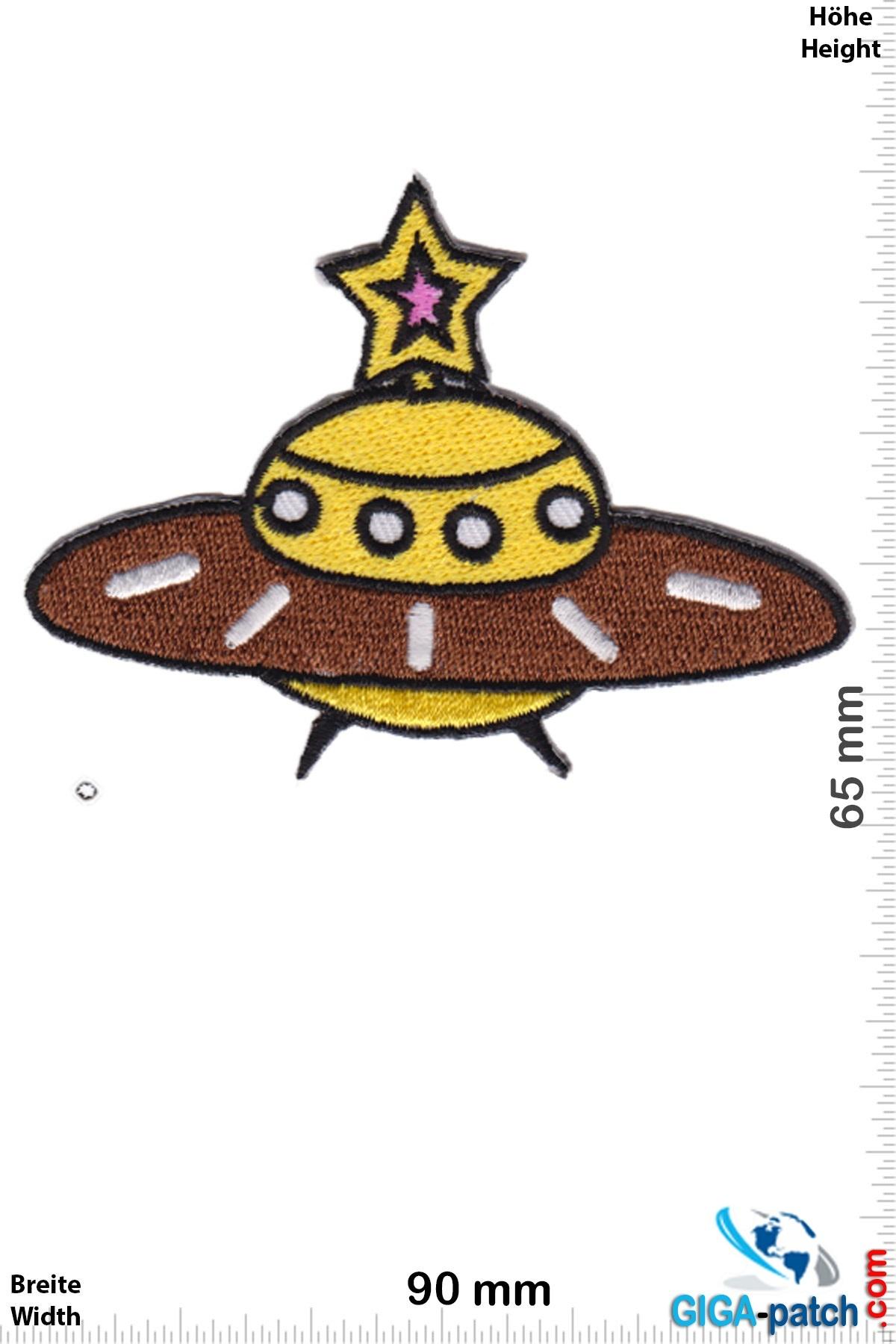 Alien UFO - Alien - yellow