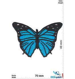 Schmetterling Schmetterling -blau schwarz