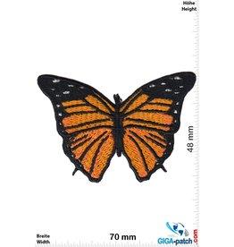 Schmetterling Schmetterling -gelb schwarz