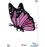 Schmetterling Butterfly - fly-pink black