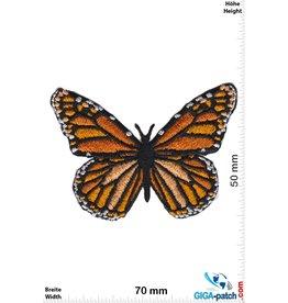 Schmetterling Schmetterling -gelb orange schwarz