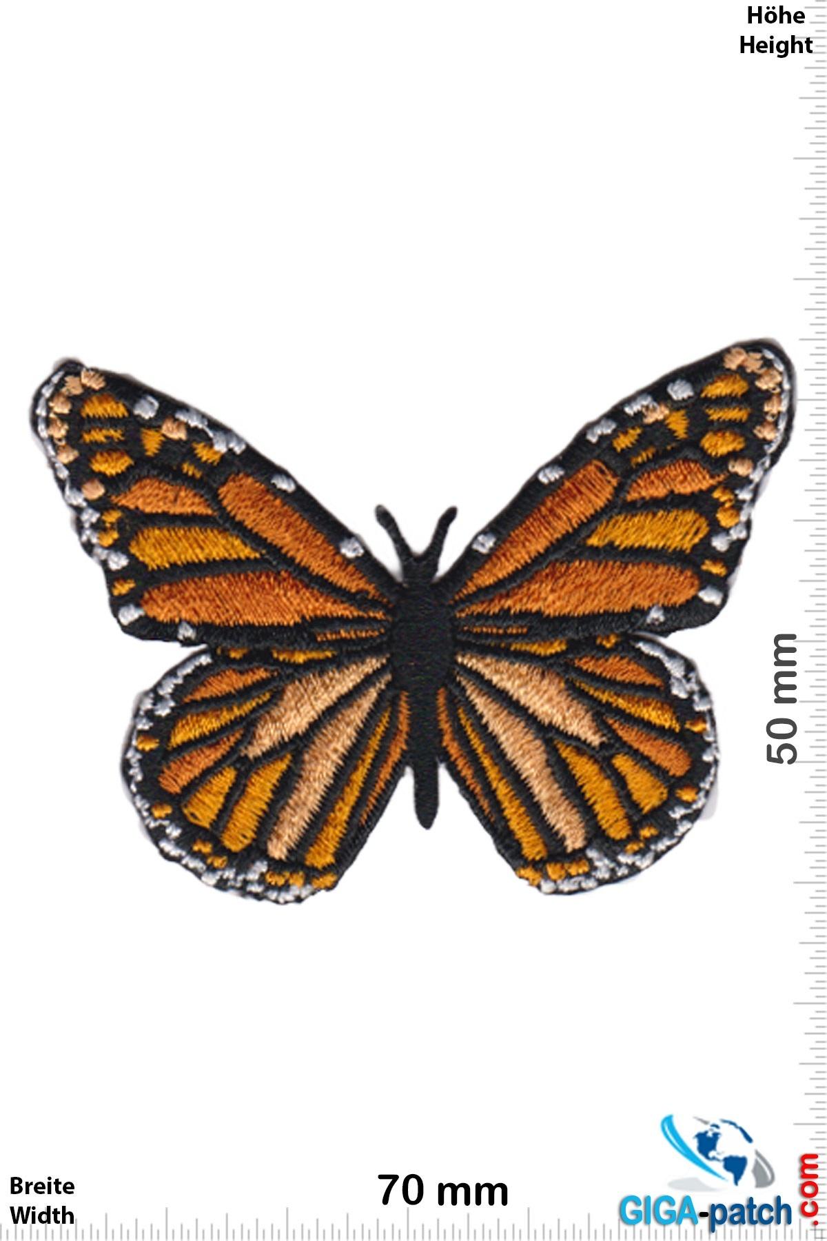 Schmetterling Butterfly -yellow orange black