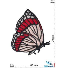 Schmetterling Butterfly - fly - red beige black