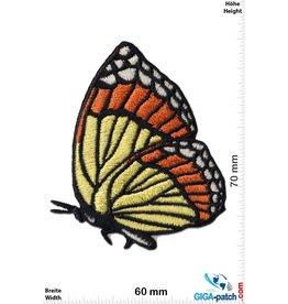 Schmetterling Schmetterling - fly -rot gelb