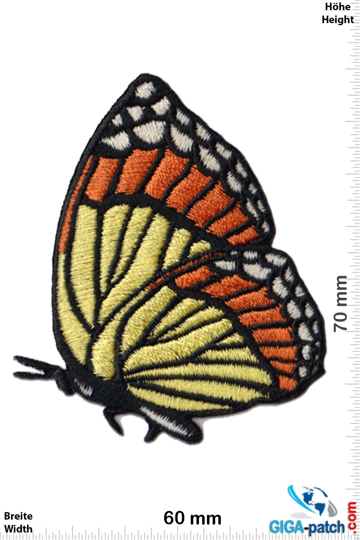 Schmetterling Butterfly - fly - red yellow