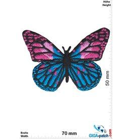 Schmetterling Schmetterling -blau pink