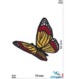 Schmetterling Schmetterling - fly -gelb rot