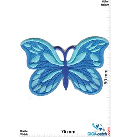 Schmetterling Schmetterling -blau - hellblau
