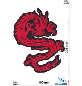 Drachen Dragon - red  - 22 cm