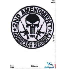 Punisher - 2nd Amenoment - Americas Orginal Homeland Security