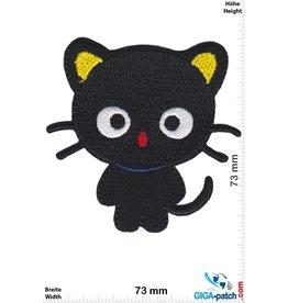 Kids cute black little cat