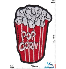 Fun Pop Corn - red white