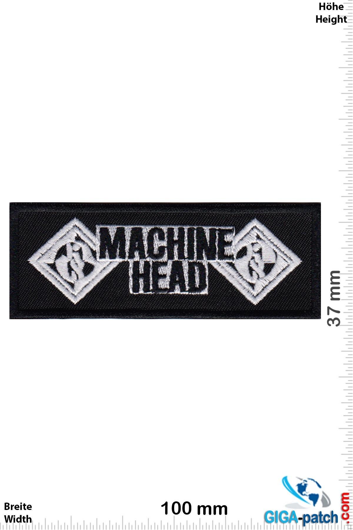 Machine Head Machine Head - Metal-Band - silver black