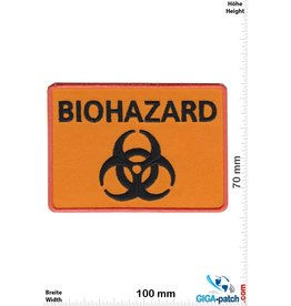 Biohazard BIOHAZARD -  orange