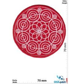 Spirt Circles -red