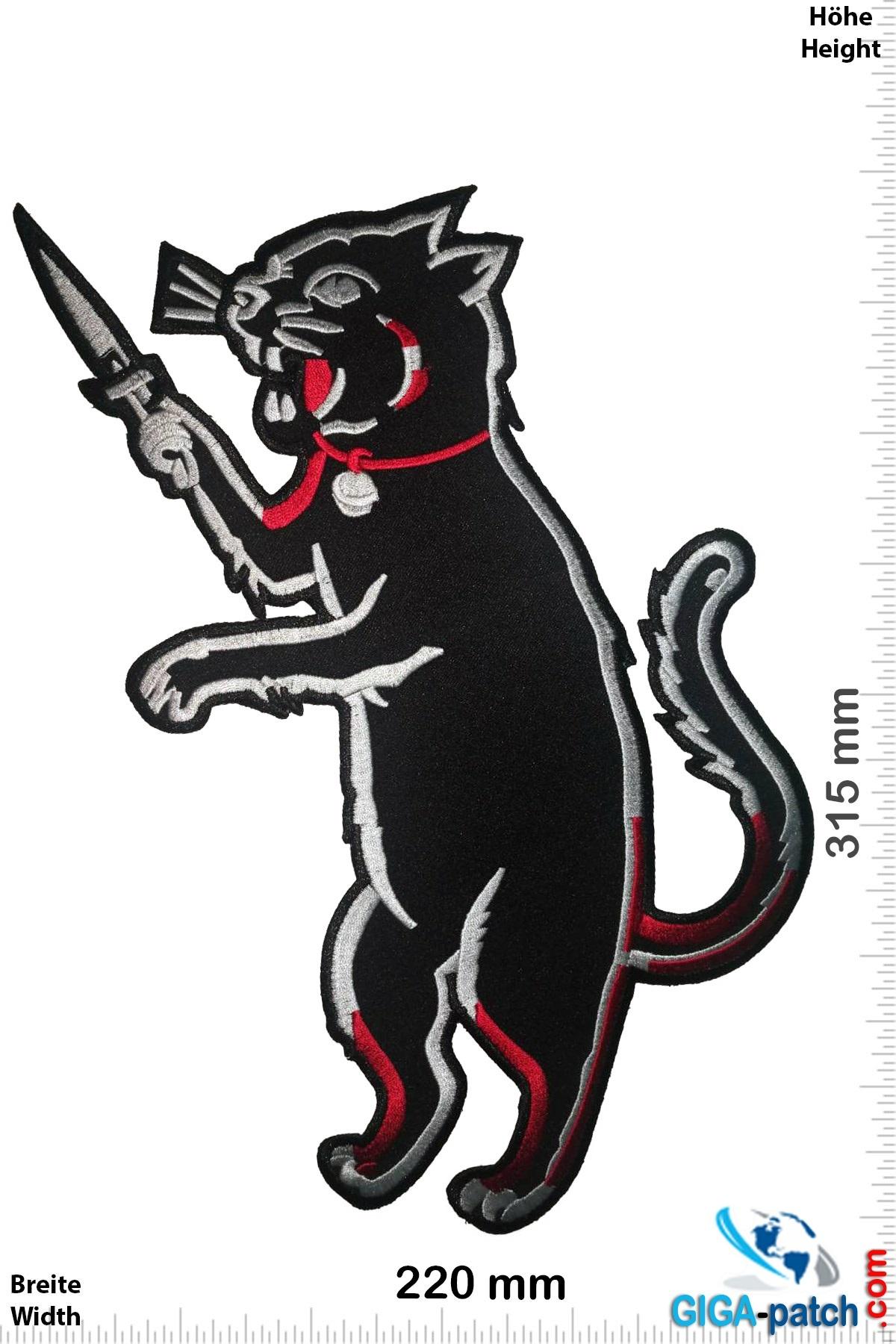 Stabby Cat - Messer Katze  - 31 cm