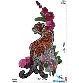 Flower Leopard- rechts  - 33 cm
