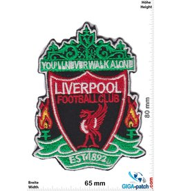 FC Liverpool  FC Liverpool - red black - You'll never walk alone  - The Reds - Football Club - Uk Soccer - Soccer