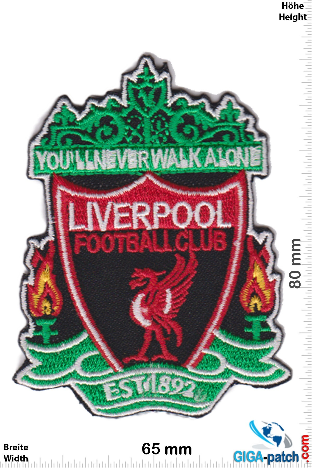 Fc Liverpool Fc Liverpool Red Black You Ll Never Walk Alone The Reds Football Club Uk Soccer Soccer Patch Back Patches Patch Keychains Stickers Giga Patch Com Biggest Patch Shop Worldwide