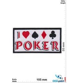 Poker I love Poker - Poker - black white