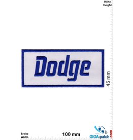 Dodge Dodge - blue white