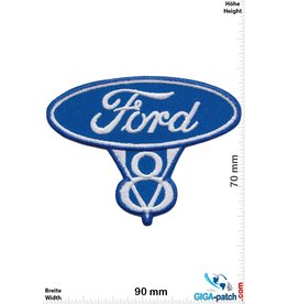 Ford FORD V8 - blue silver