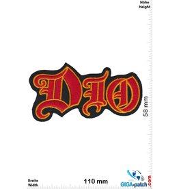 Dio DIO - red gold - Heavy-Metal-Band