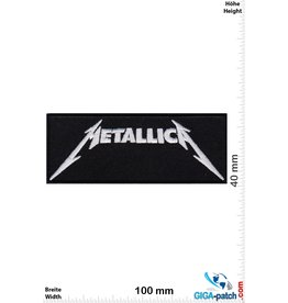 Metallica Metallica  - silver black - small