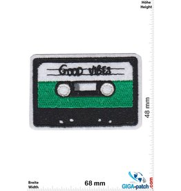 DJ Music Cassette - Tape - Good Vibes - Music