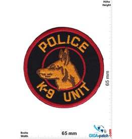 Police Police - K-9 Unit - Police dog - Hundestaffel - red black