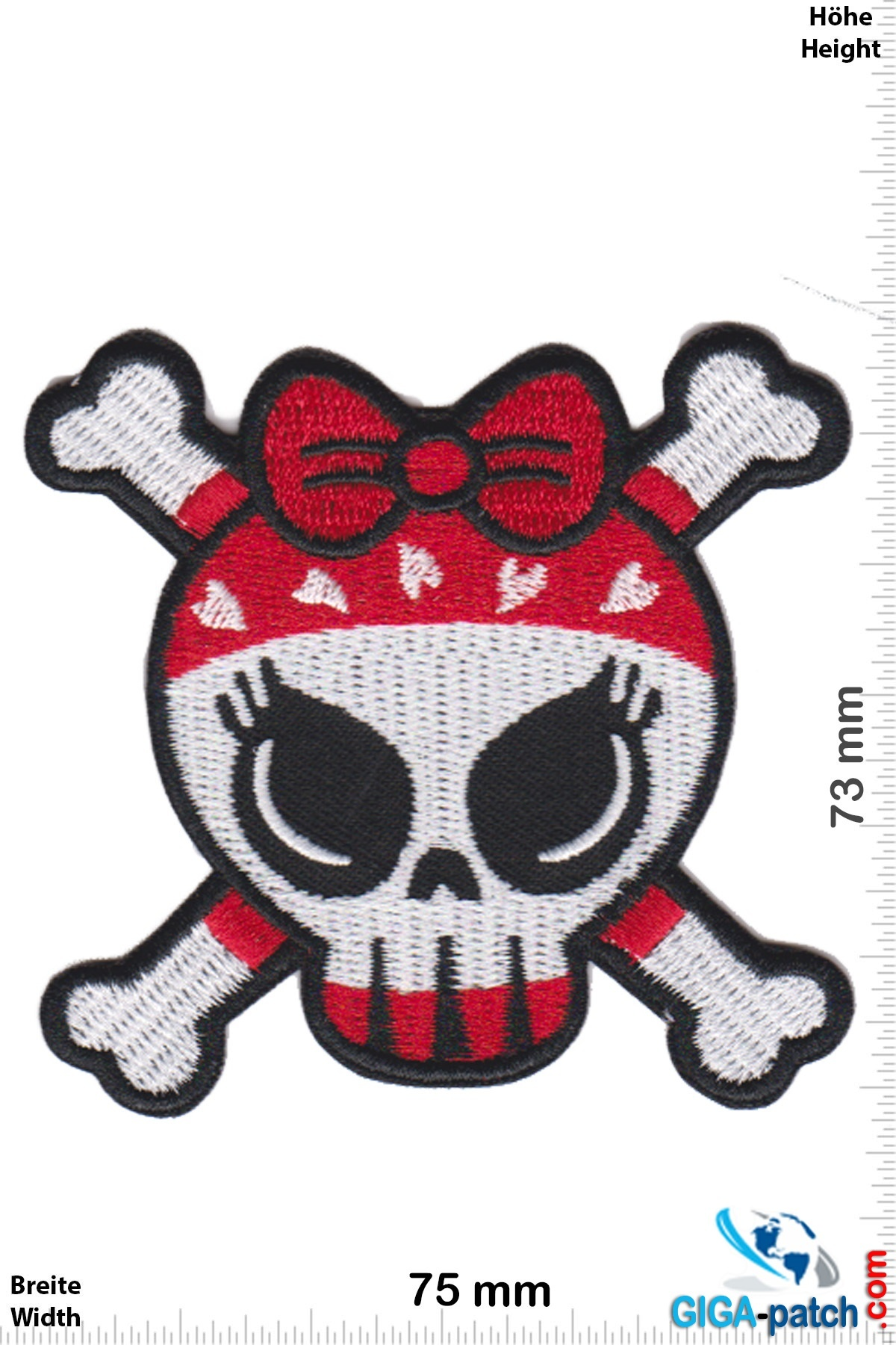 Totenkopf Lovley Lady Skull - Totenkopf