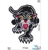 Biker Black Panther - claws