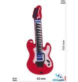 Gitarre Red E-Guitar