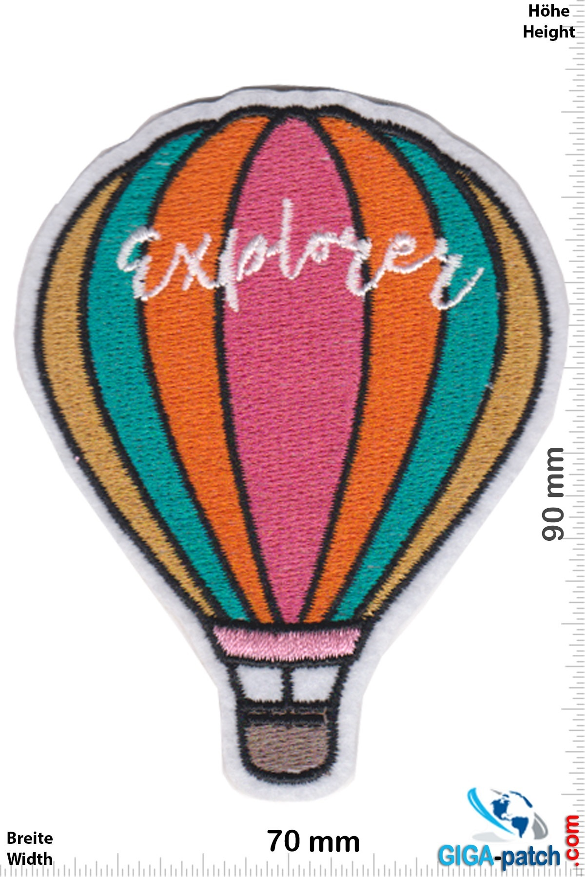 Explorer - hot air balloon