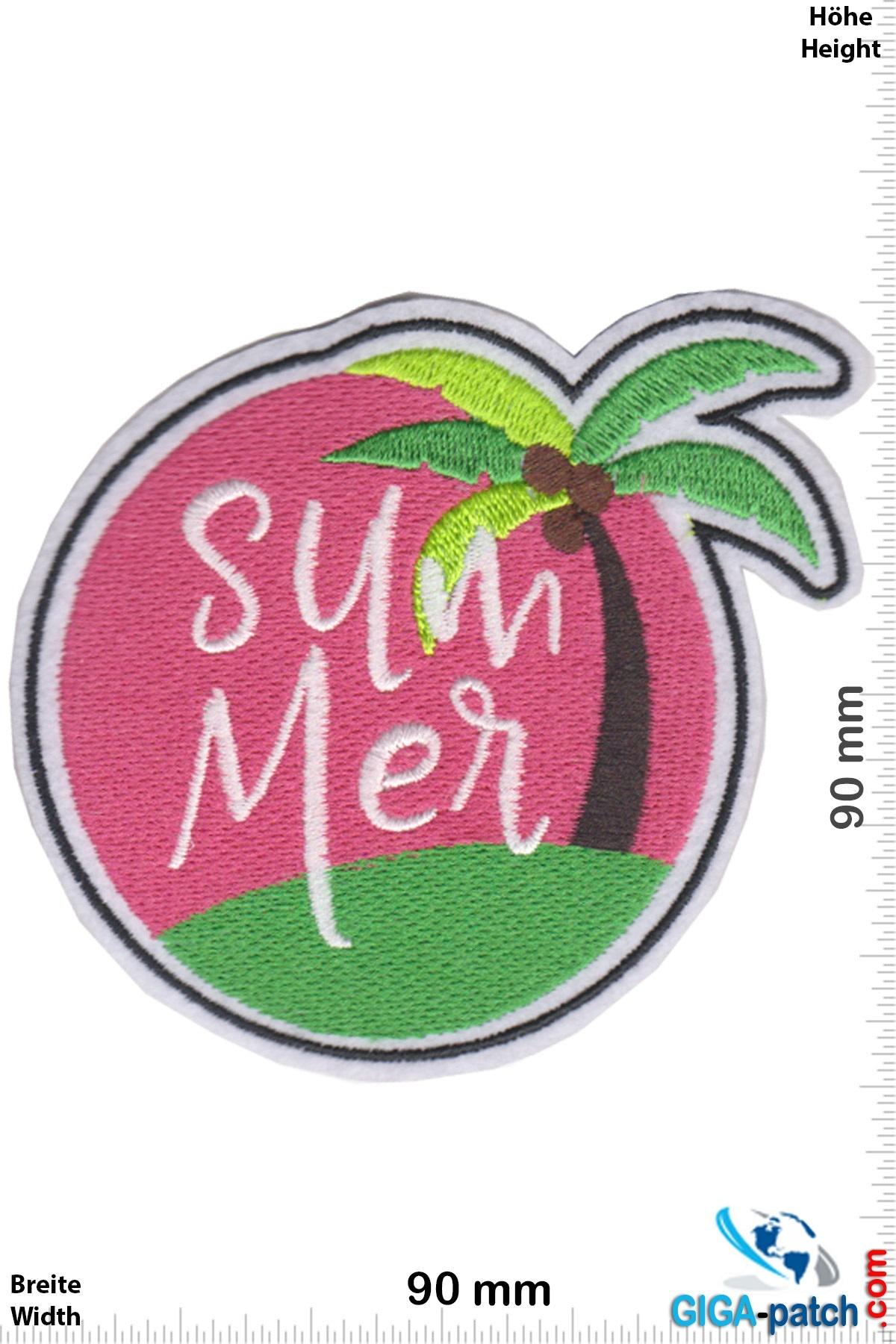 Summer - palm tree