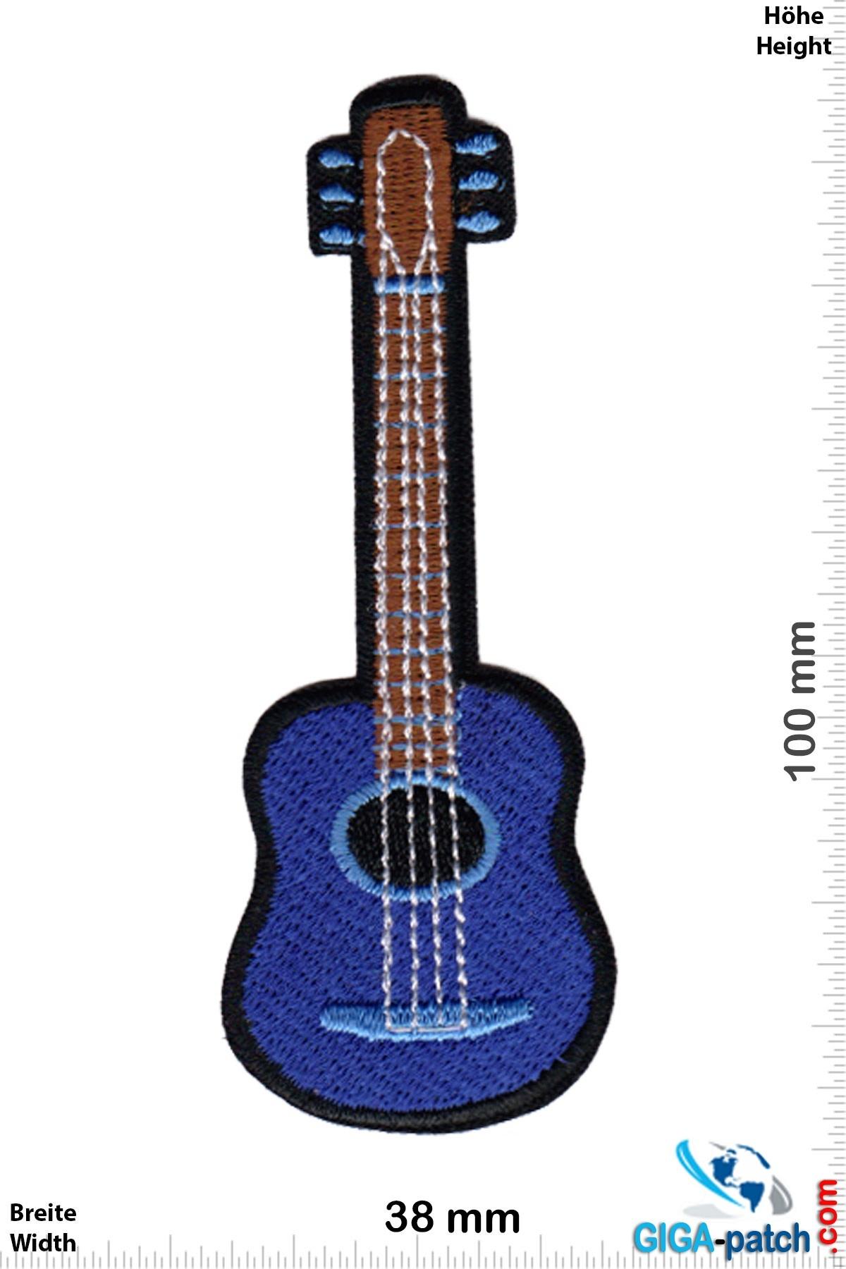 Gitarre Akustik Gitarre - blue