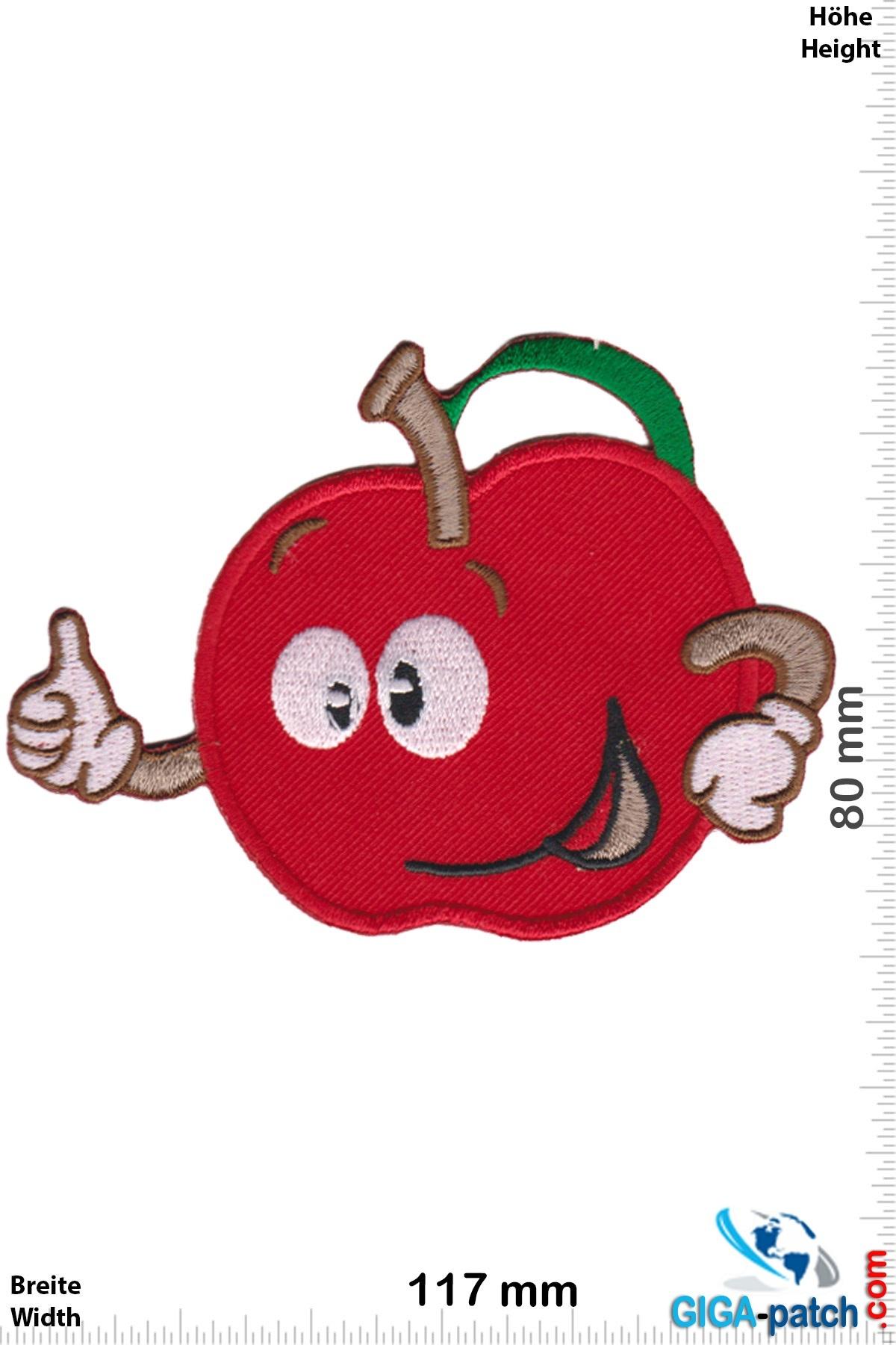 Fun Happy Apple - Apfel