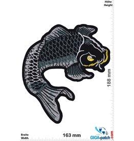 Koi Karpfen - black  - 18 cm
