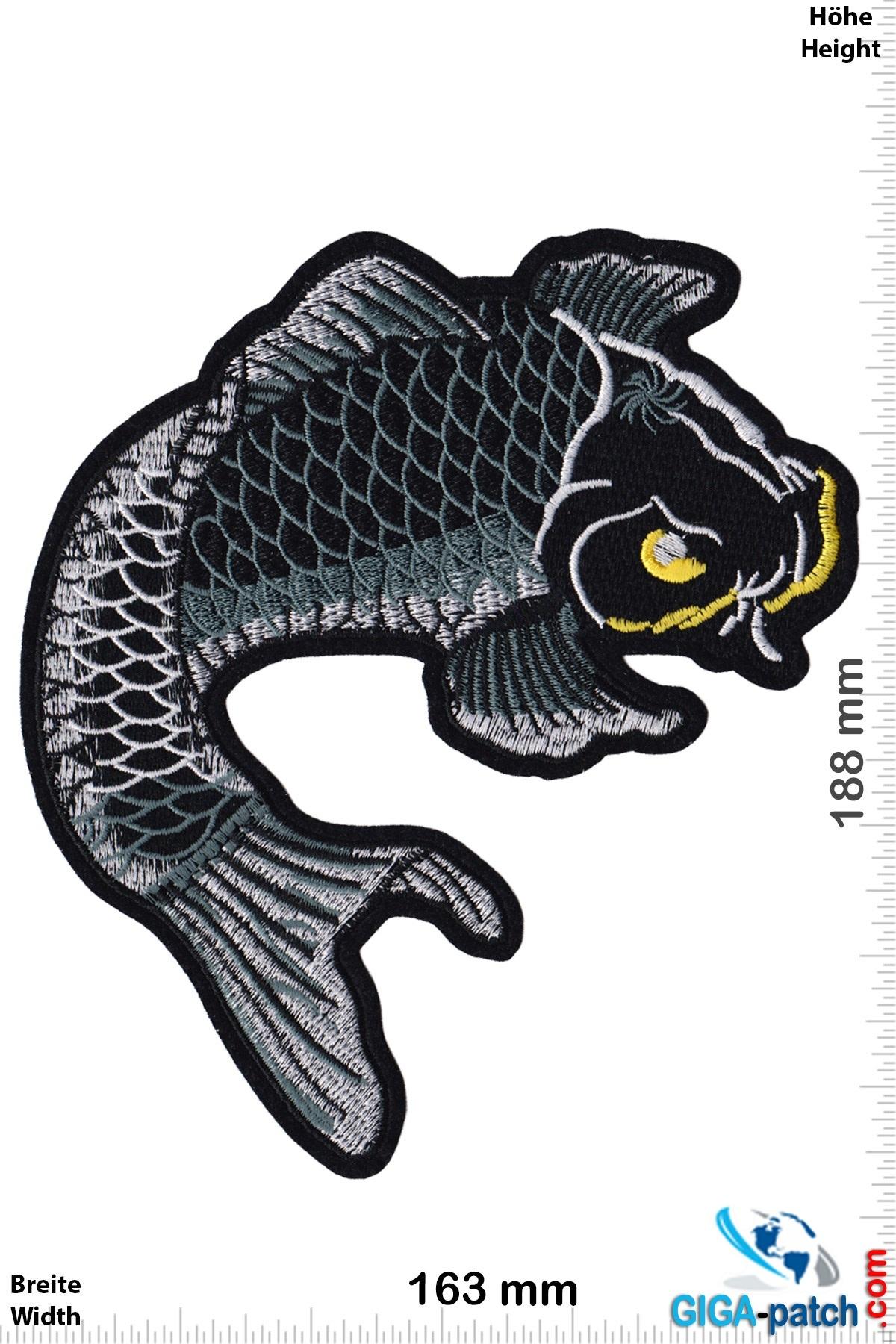 Koi Carp - black - 18 cm