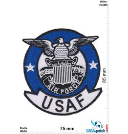 U.S. Air Force USAF - U.S. Air Force - blue