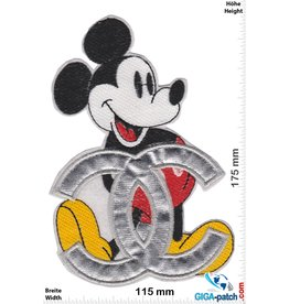 Mickey Mouse  Mickey Mouse  - CHANEL - big Softpatch