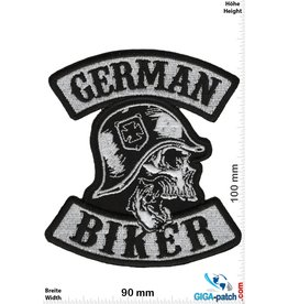 Biker German Biker - Skull - Cross - HQ