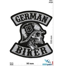 Biker German Biker - Skull - Kreuz - HQ