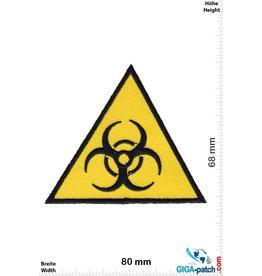 Biohazard BIOHAZARD VIRUS - dreieck