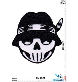 Totenkopf Skull - Indian hat