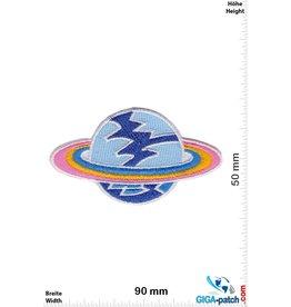 Raumfahrt Planet mit Ring - Space
